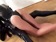 Fucking-Rubber Catsuit