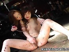 Asian bondage she strikes again scene