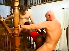 Ebony Model Gets DP By Two Horny White Guys!