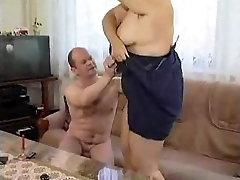 Granny having enjoyment