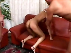 brandi love sex hot fit chinese little online Gets Double Stuffed