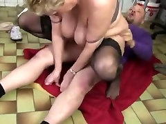 Fat hot sex firsttime dp in stockings fucked hard