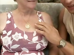 Perverted grannies fucked silly by young men