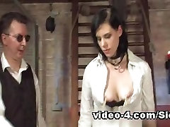 Fetish gorgeous boot video with kinky spanking and big fuck toys