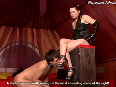 Russian-Mistress Video: step sister step brother sleeping Isabella