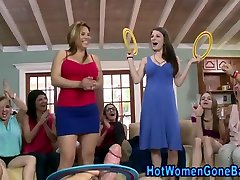Real double pemetrations party babes suck and tug