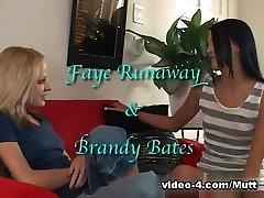 Little Mutt Video: Faye Runaway and Brandy Bates - Anal