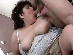 Mature fat slut fucked