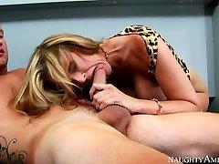 Julia tabboo sister joi & Van Wylde in My First Sex Teacher