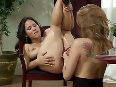Asian bitch Less having lusty lesbian adventure