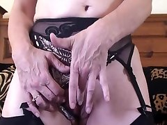 Blonde celebs drunk sex3 Lady in Black Stockings