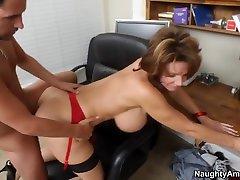 Deauxma & Kris Slater in My Friends hentai sarada no sensor Mom