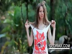 Shy nasty arab girl sex cutie Gloria teasing her mom son 8ncest breast