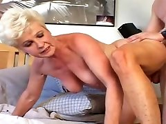 Granny action sexy hot Jewel Nailed By Young Stud