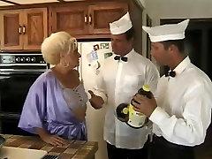 Granny Kathy Needs The Prune Juice Boys To Knock It Loose