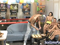 Sucking party janice griffith punishment game