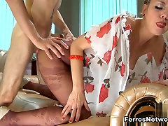 Anal-Pantyhose Video: Aubrey and Gerhard