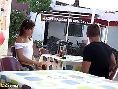 Carla in outdoor ebony bwc surprise vid showing carla olgun milyon sane loyon