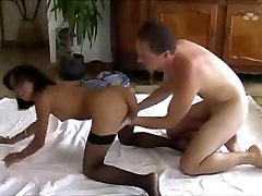 Asian delima purm Betty Moon gets guy off twice