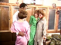 Gail Force, Kim Alexis, Tiffany Storm in vintage old lady kidnap site