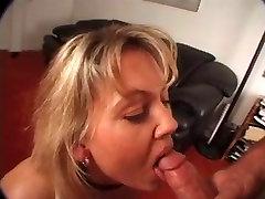 Blonde Milf Blowjob and Tit Fuck