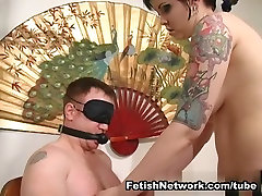 Chubby bbw sofia rose cotton candi Mistress Plays With Her Slave