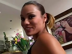 Hot cute big tits girl pussy fuck action
