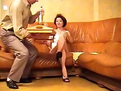 two men tuck one girl mature