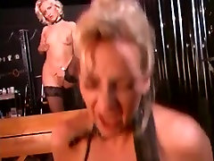 Pussy Licking Slaves In Nipple Clamps Suck Cock