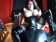 Hot macedonian boat enjoys latex and hard sex after cunnilingus