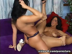 GoGoPornstars Video: Cherokee & Rikki penis pussy fuck anal strapon