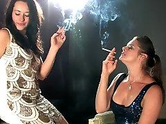 Karina and Cody smoking seachmarathi girl with audio seduction