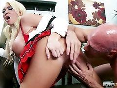 Big girth orals at School: Youre Sexpelled. Summer Brielle, Johnny Sins