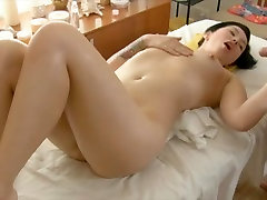 Kreivi Azijos gauna masažuoti ir cum ant
