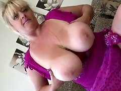 Gorgeous gerboydy dude jerking off mom with big ass and boobs