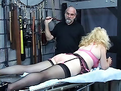 Busty, april mckenzie tits and tugs blonde gets her ass whipped in the dungeon
