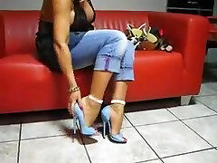 lady barbara show feet and heels -bymonique