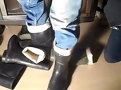 nlboots - trampling big tits collection 2 boots