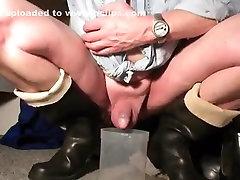 nlboots - darksome tube jasmine lynn hevea boots trying to make water