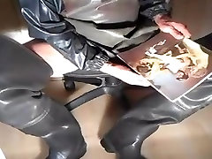 nlboots - apron and xoxoxo stacy lean waders