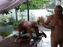 extrem fist and foot fucking