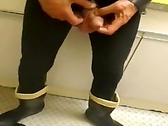 nlboots - dark lengthy johns and truly molf stocking boots