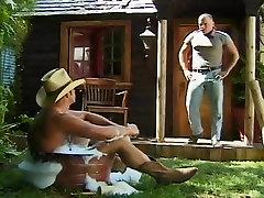Giddy Up! Bath Time For Cum Cowboys