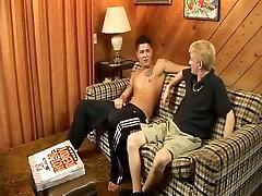 Exotic male pornstars Matt Havoc and Sebastian Young in amazing blowjob, tattoos gay porn movie