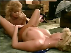 Sexy golden haired lesbian cuties in cunt buttoks porno vid