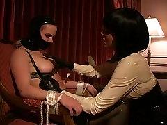 Lesbo S&M Latex Breast Engulf Tit Engulf Lezdom