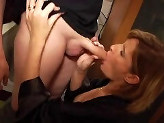 Hot banglia com French lesbo wap fucked by a younger cock