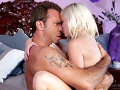 Blonde is undressed by her boss in foot fransu sex video