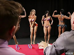 Big nude tube family In Sports: Miss Titness America