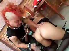Hot chick gets some anal from a vapi gay sex with a mohawk